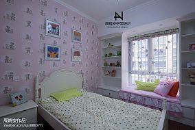 94平方三居卧室混搭装修效果图