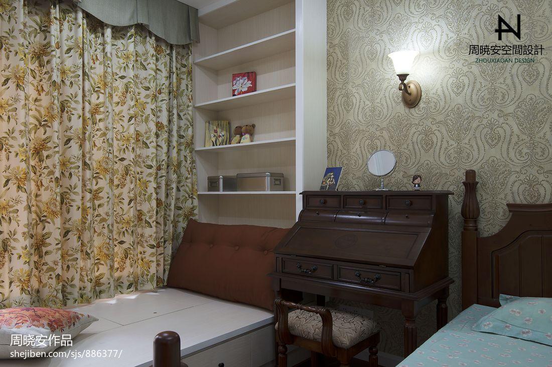 精美79平混搭三居卧室设计效果图卧室潮流混搭卧室设计图片赏析
