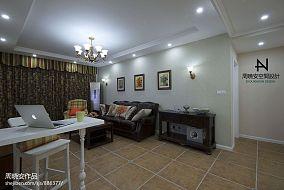 精美104平米三居客厅混搭装修效果图