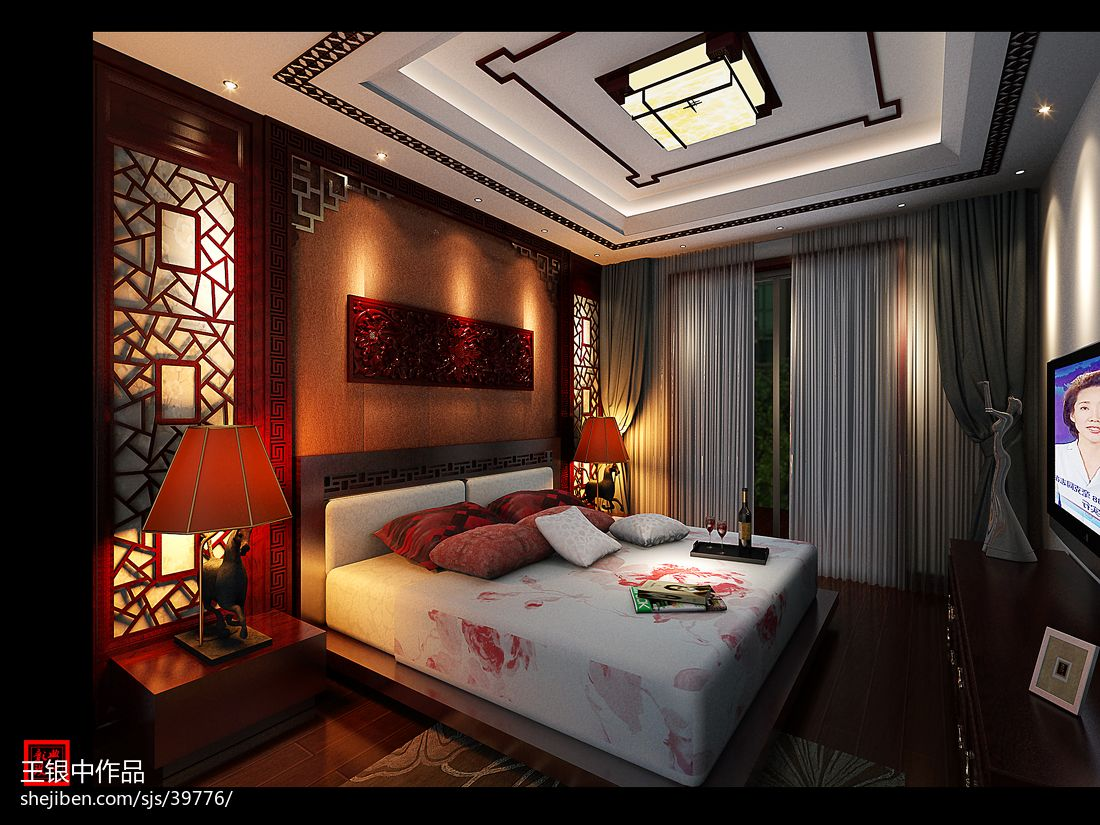 精选137平米现代复式卧室装饰图片大全卧室现代简约卧室设计图片赏析
