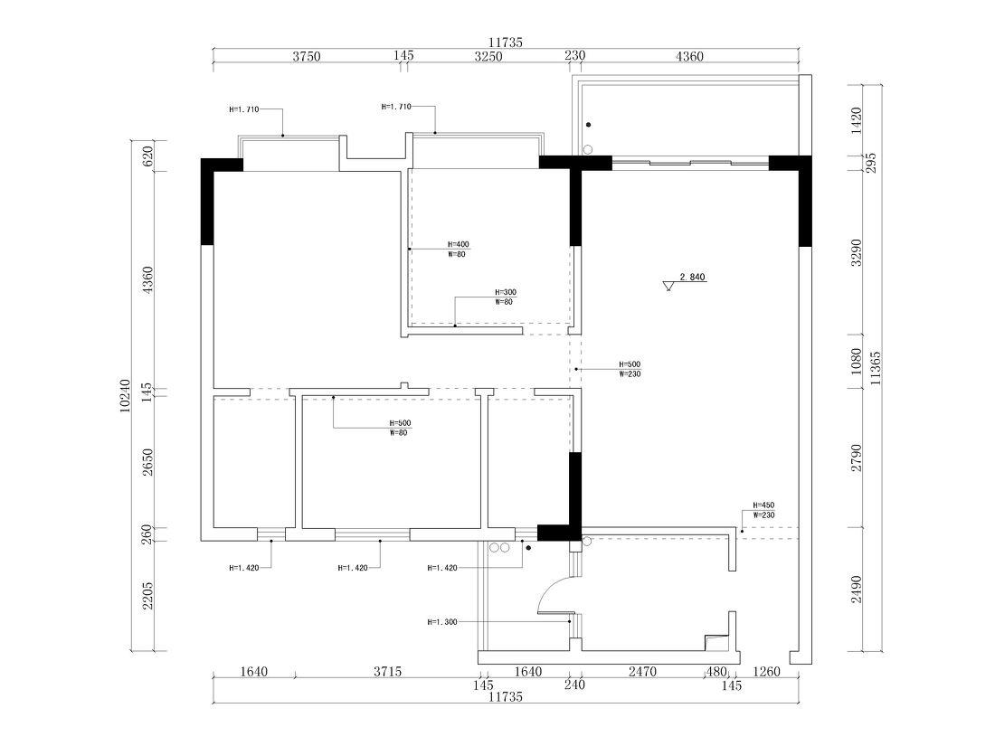 轻奢97平混搭三居客厅装修美图客厅潮流混搭客厅设计图片赏析
