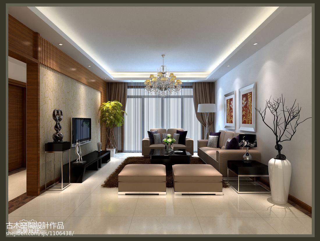 刘宅客厅潮流混搭客厅设计图片赏析