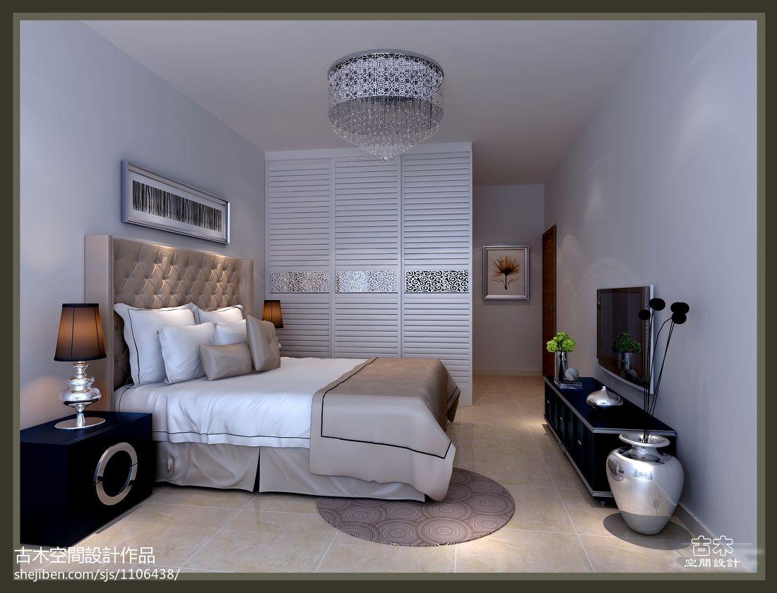 刘宅卧室潮流混搭卧室设计图片赏析