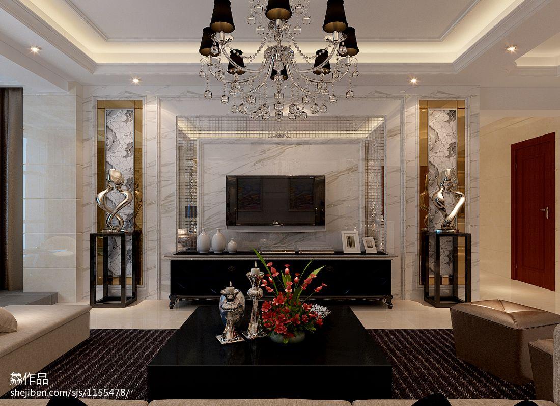 精选142平米四居客厅混搭装饰图片客厅潮流混搭客厅设计图片赏析