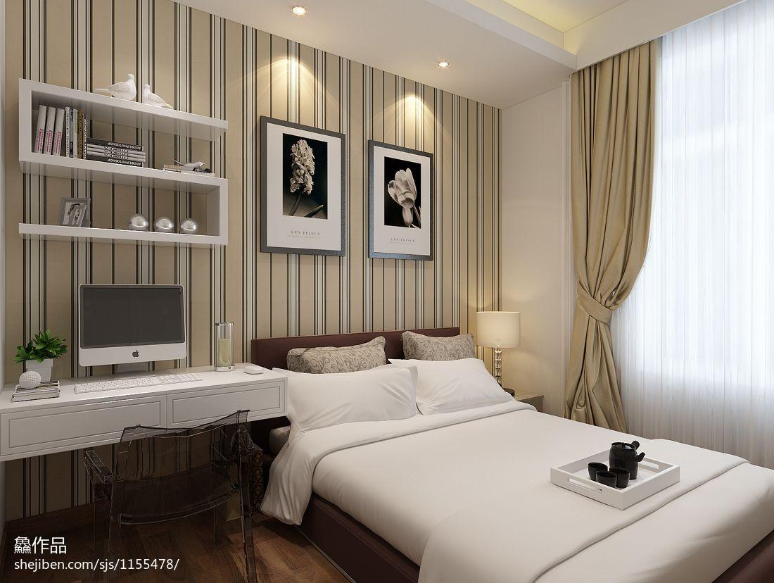 优美31平混搭小户型卧室装修图卧室潮流混搭卧室设计图片赏析