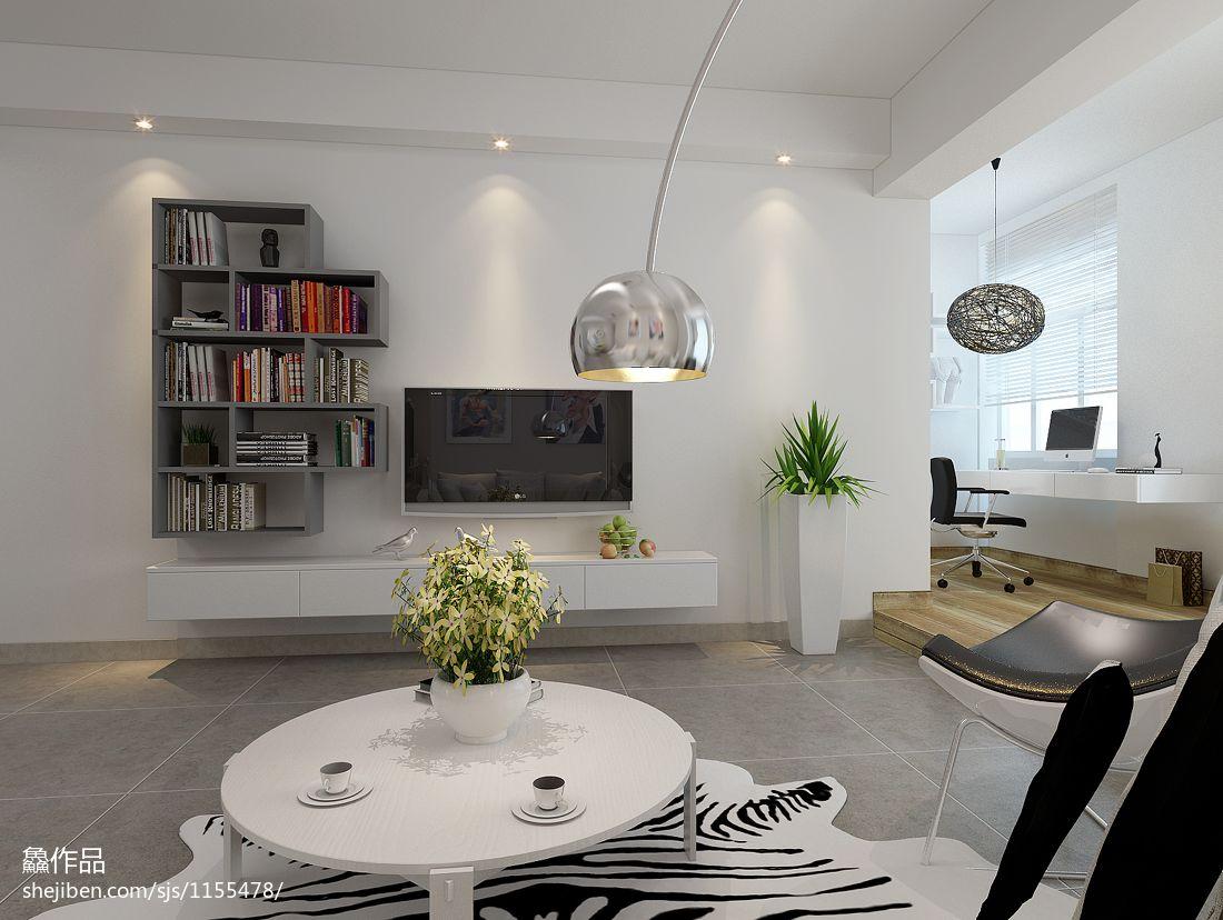 质朴36平混搭小户型客厅设计图客厅潮流混搭客厅设计图片赏析