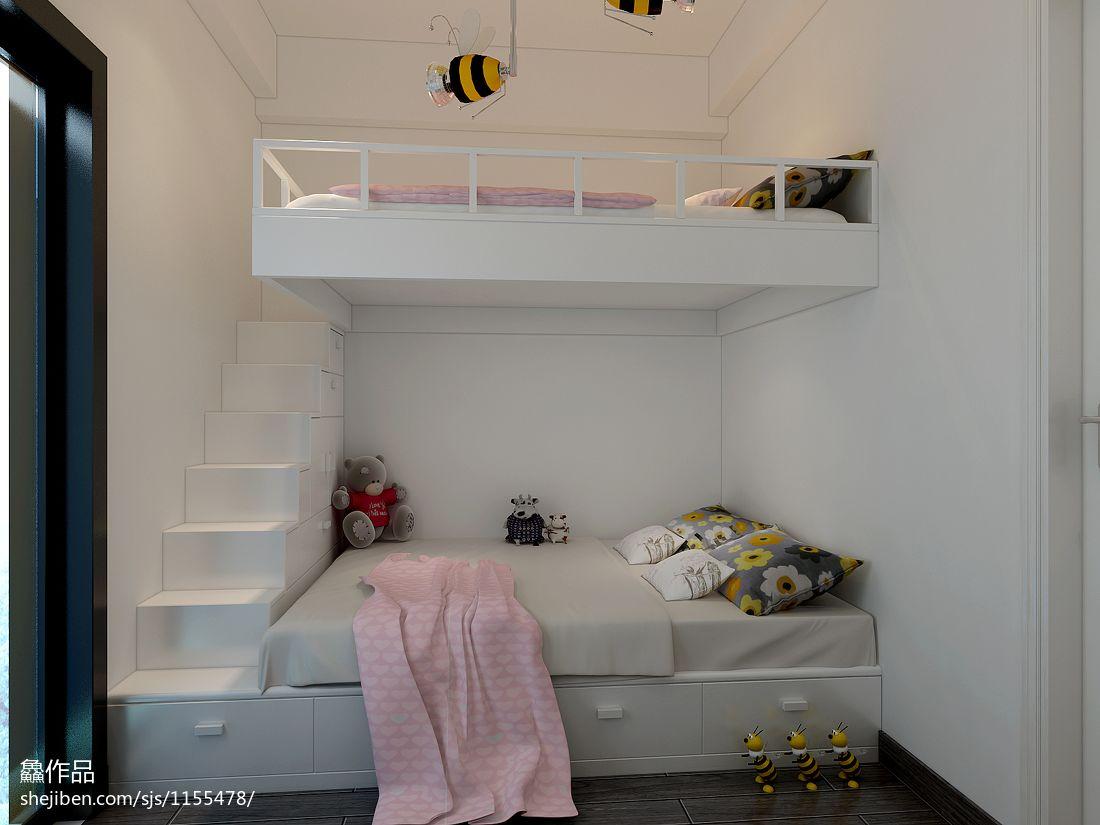 量房温馨小窝卧室潮流混搭卧室设计图片赏析