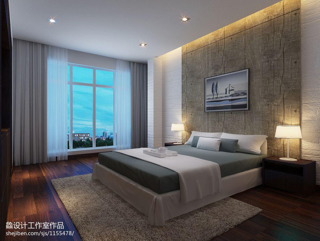 精美大小136平混搭四居卧室装饰图卧室潮流混搭卧室设计图片赏析