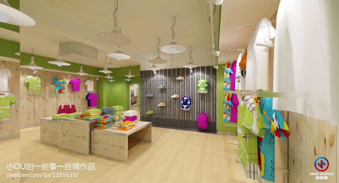 海伦金博颂工街门店购物空间设计图片赏析