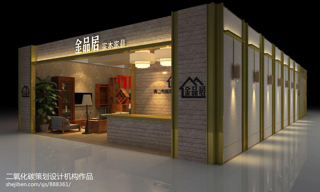 中式风格展览展示设计商业展示设计图片赏析