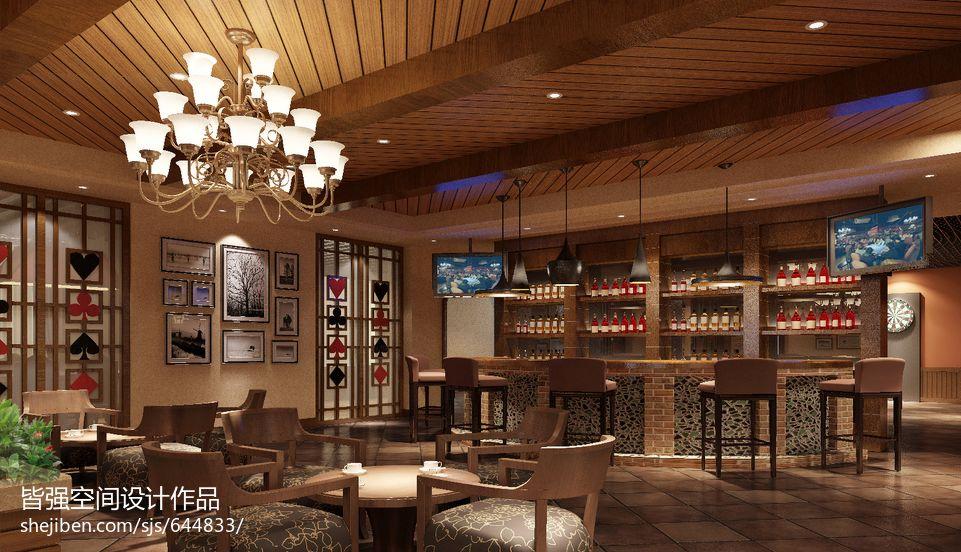 德州扑克俱乐部娱乐空间其他设计图片赏析