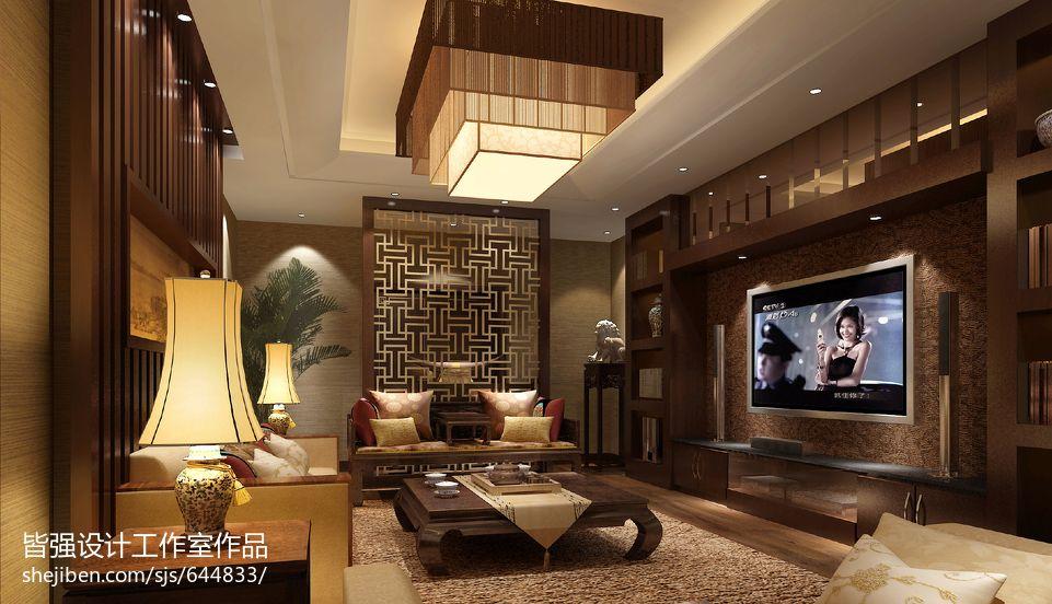 简洁745平混搭别墅休闲区效果图功能区潮流混搭功能区设计图片赏析