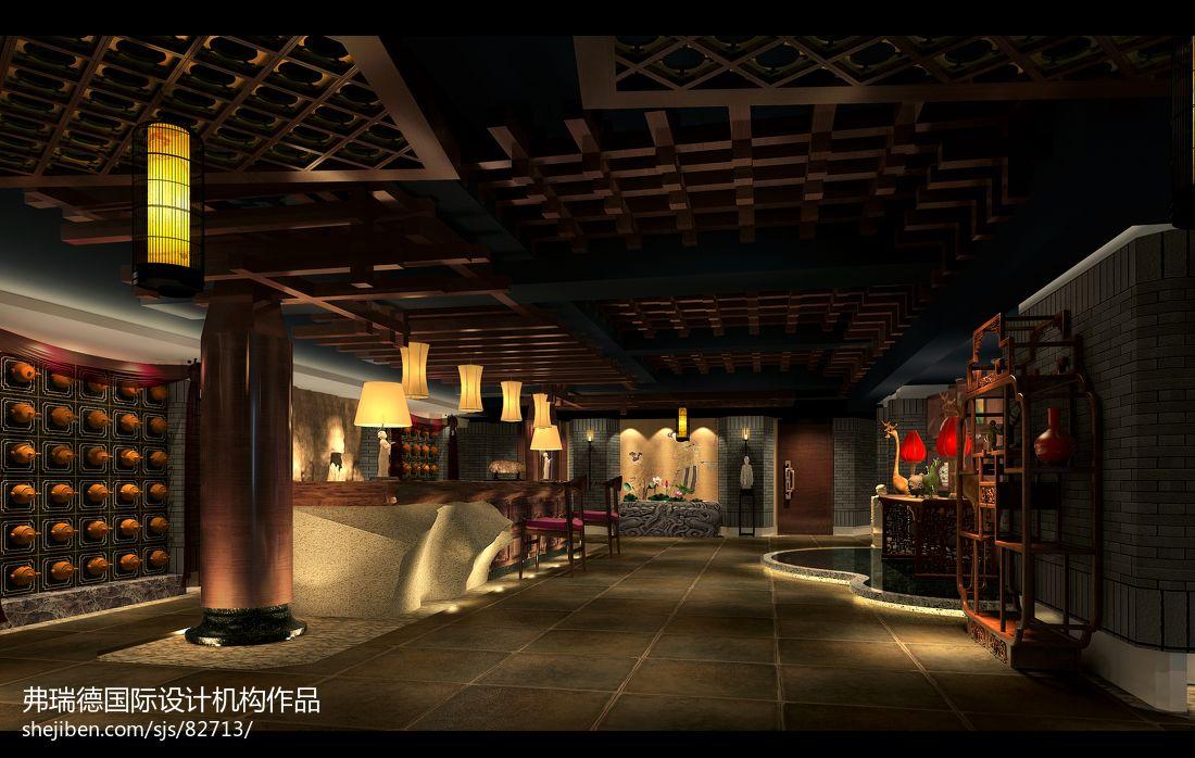 [弗瑞德国际何俊霖设计]中国桃花源酉阳休闲会所娱乐空间其他设计图片赏析