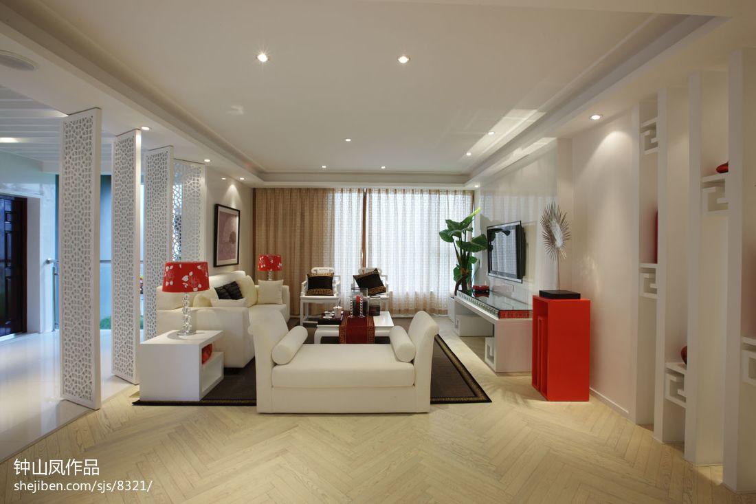 精致82平混搭二居客厅实景图片客厅潮流混搭客厅设计图片赏析