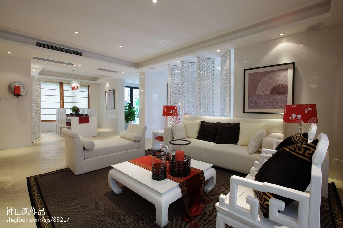 精美大小70平混搭二居客厅装修欣赏图客厅潮流混搭客厅设计图片赏析