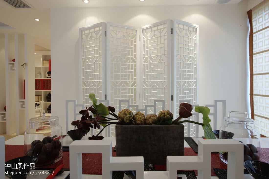 热门面积74平混搭二居餐厅装修设计效果图片欣赏厨房潮流混搭餐厅设计图片赏析