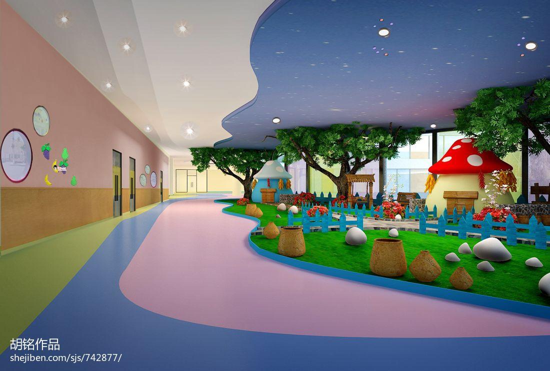 四川成都幼儿园室内设计方案教育机构设计图片赏析
