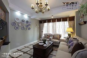 热门125平米混搭复式客厅装修实景图片