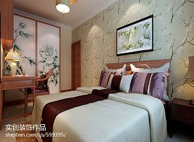 现代风格精装卧室图片