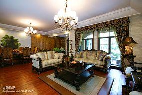 精选面积116平别墅客厅混搭装饰图