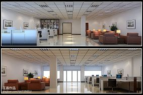 现代简易两层别墅外观设计