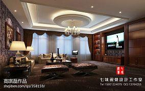 中式现代家装空间图片