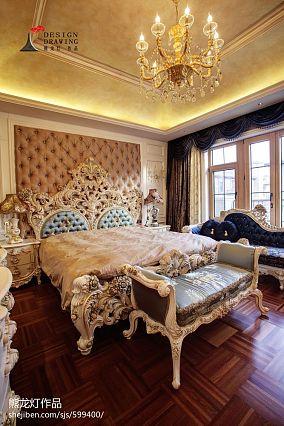 欧式别墅卧室装修效果图大全
