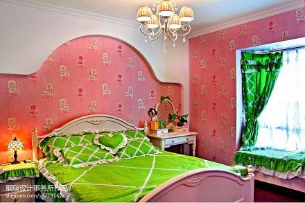精美85平混搭三居卧室图片欣赏卧室
