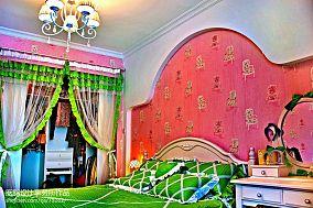 优美93平混搭三居卧室效果图片大全卧室1图潮流混搭设计图片赏析
