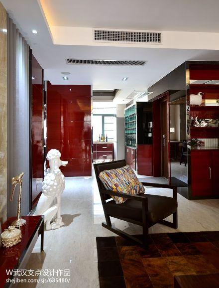 面积97平混搭三居客厅装修效果图片欣赏客厅2图