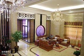 140平方混搭别墅客厅装修设计效果图片大全