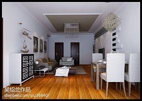 现代90平米房屋带阁楼图片
