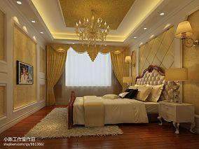 热门95平方三居卧室混搭装修设计效果图片