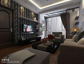面积70平中式二居装修设计效果图片大全