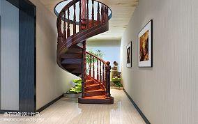 新中式楼梯效果图