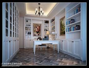85平米简约两室一厅客厅装修效果图片