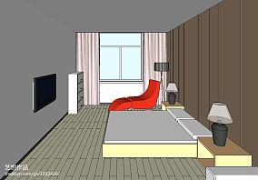 大气105平米三居室图片