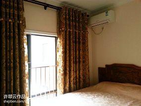 东南亚风雀彩斑斓卧室欣赏图