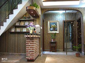 清新风格室内楼梯