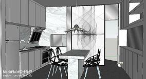 欧式豪华吧台式厨房装修