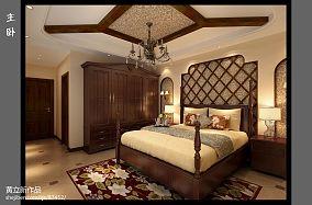 欧式装修设计卧室吊顶图片大全