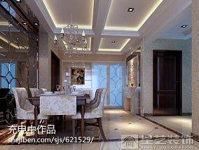 简约美式沙发相片墙装修案例