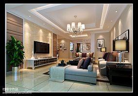 144平米现代复式客厅欣赏图