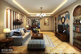 热门四居客厅地中海装修效果图片