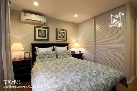 精选71平米二居卧室美式效果图片大全