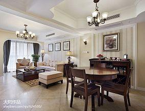 混搭三居户型餐厅设计效果图厨房