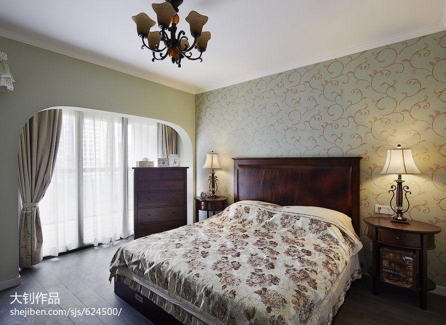 混搭三居户型卧室设计效果图