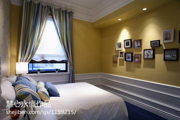 温馨288平欧式样板间卧室装饰图卧室欧式豪华卧室设计图片赏析
