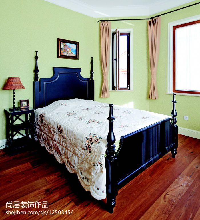 优雅586平别墅卧室效果图欣赏卧室其他卧室设计图片赏析
