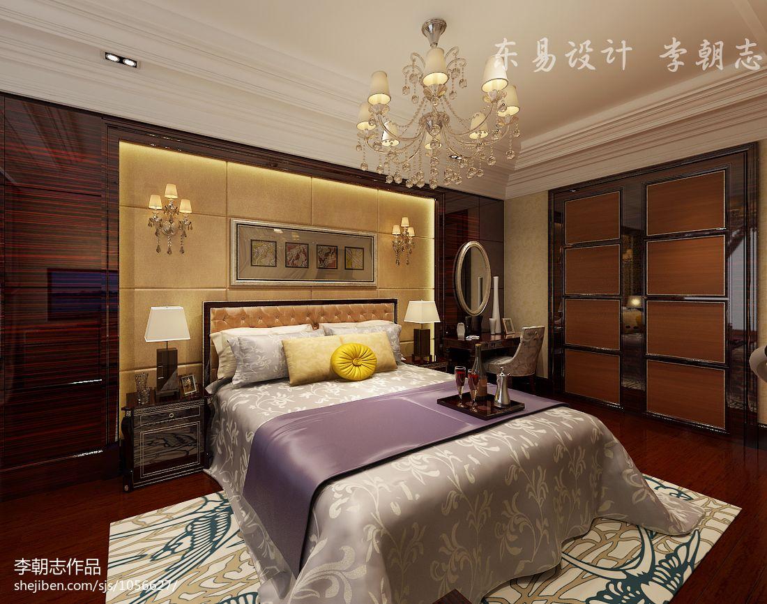 精选复式卧室欧式装修实景图片欣赏卧室欧式豪华卧室设计图片赏析